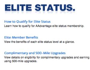 Elite Status