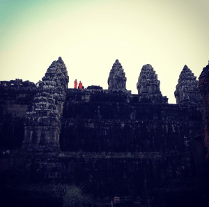 You might even catch some monks hanging out at the temples.