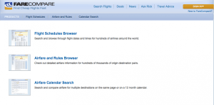 FareCompare is a great tool for finding the lowest airfares.
