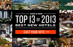 Vote for your favorite Tablet Hotel and win free nights.