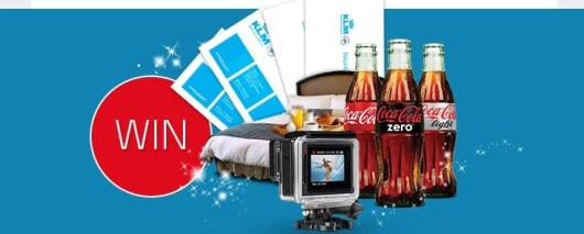 Win a dream trip from KLM and Coca-Cola