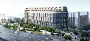 The Marriott Dongdaemum Square is scheduled to open in February 2014.