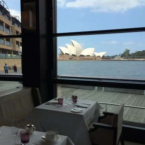 View from the Dining Room restaurant.