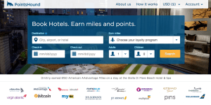 PointsHound not only accepts bitcoin for travel booking, but can also offer bitcoin in lieu of hotel points, as well