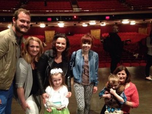 "I recently used points to book a special performance of ""Cinderella"" on Broadway for myself and some of my family - and we met the stars, Fran Drescher and Carly Rae Jepsen!"