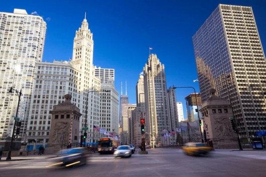 The Langham Chicago is set amidst the city's Magnificent Mile (Image courtesy of Shutterstock)