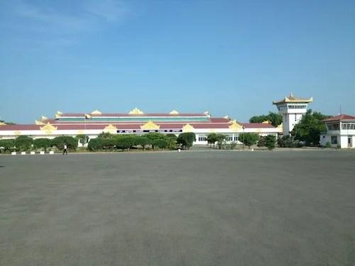 Bagan's newish airport.