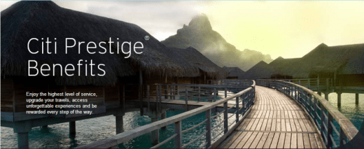 Citi prestige benefits