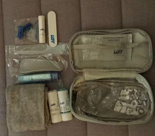 LOT Business Class Amenity Kit