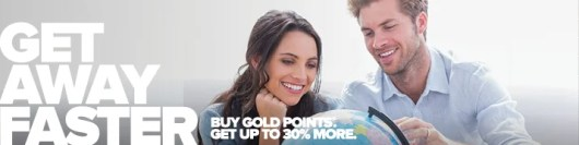Get a 30% bonus on purchased Club Carlson Gold points