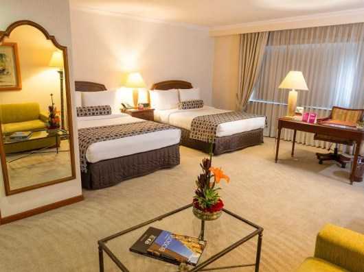The Crowne Plaza Hotel in Bogota is situated near the historic old city, La Candeleria.