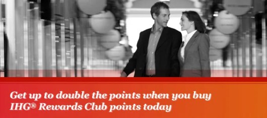 Earn up to a 100% bonus on purchased IHG Rewards points.