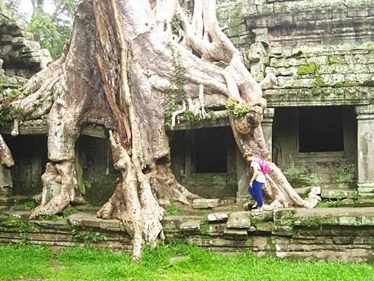 I felt like an true explorer trekking through Preah Khan.