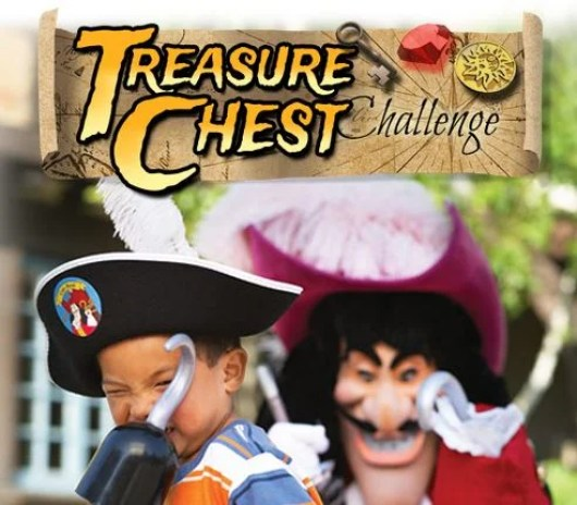 Win a trip to a Disneyland Resort by playing the Treasure Chest Challenge