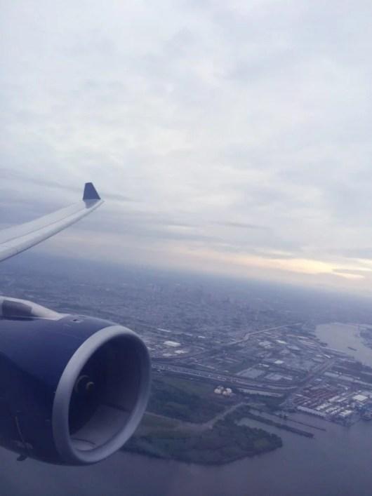 Take-off over PHL