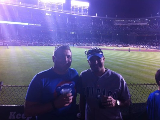 If you want to cheer on your favorite team in style (like me and my buddy Jason at a Cubs game last year!), there are many sites that will help you do that.