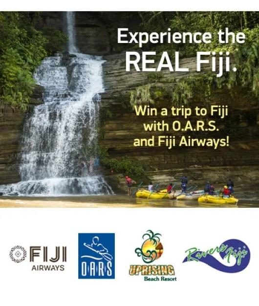 Win a trip to FIJI