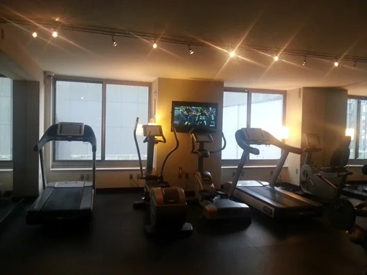 Your run-of-the-mill workout room