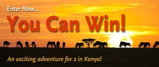 Win a trip to Kenya