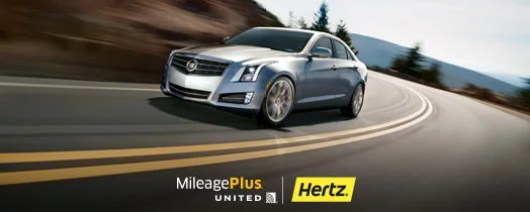 United expands their partnership with Hertz