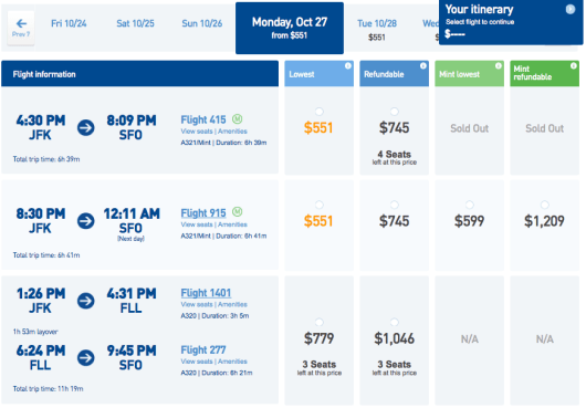 Mint isn't much more expensive than a last-minute coach ticket today!