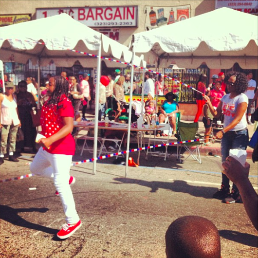Double Dutch and more family fun at South central L.A.'s Taste of Soul