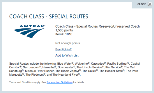 Many special routes on Amtrak have limited timetables but can offer a nice alternative to flying.