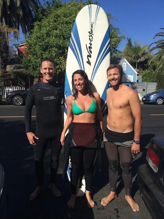 Hit the waves with Nick Fowler of Aloha Brothers, like I did!