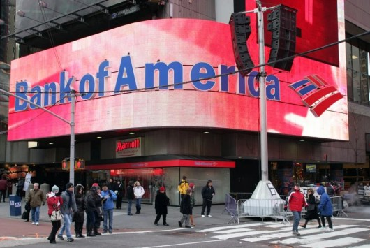 Bank of America is shaking things up...sort of.