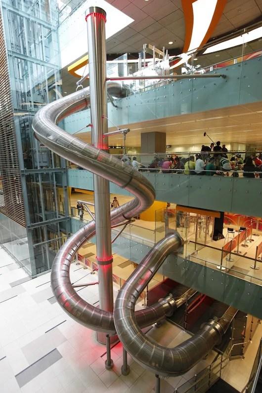 Singapore's tallest slide.