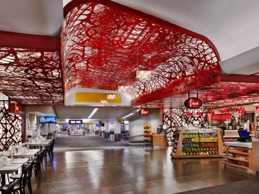 Enjoy some French fare and high design at LGA's Bisoux