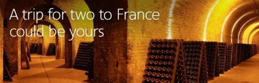 Win a trip for two to France