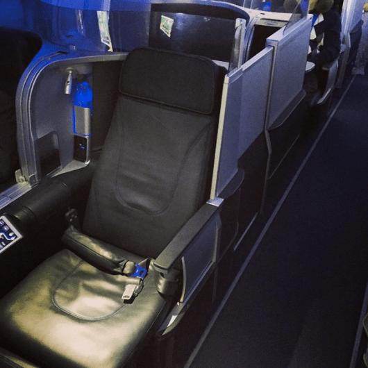 My open suite (1D) in JetBlue's Mint