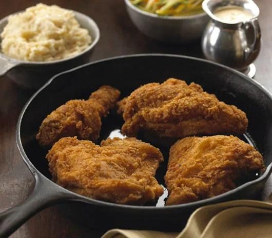 Aunt Pitty Patt's fried chicken.