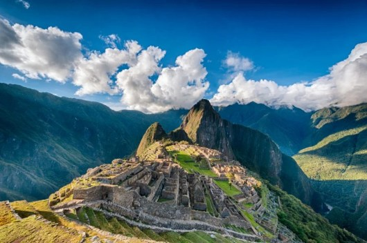The train offers some incredible views of Machu Picchu. Photo courtesy of Shutterstock.