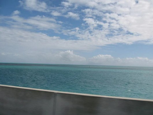 Just another glimpse of the Gulf of Mexico from U.S. Route 98 (Photo by Melanie Wynne)