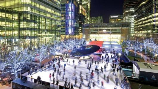 One of London's best winter attractions, the Canary Wharf Ice Rink, will be open until February 28, 2015.