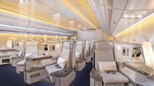 You'll be able to try out Finnair's fancy new A350 business class aboard flights to Asia next year.