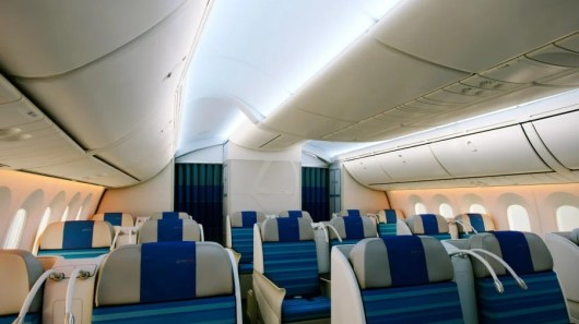 Business class aboard LOT's 787. Photo courtesy of LOT.