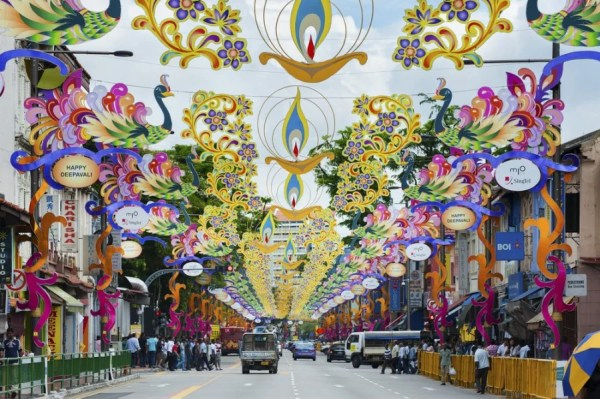Visit the colorful Little India in Singapore. Photo courtesy of Shutterstock.