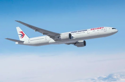Fly China Eastern's new 777's to New York and LA.