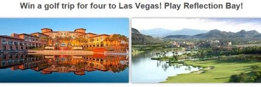 Win a trip to golf in Las Vegas