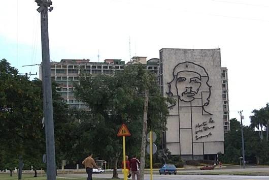 The Revolution Square in Vedado