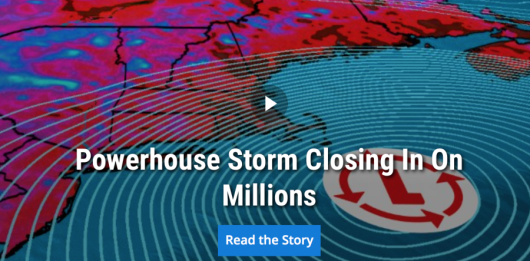 Winter Storm Juno is going to strike