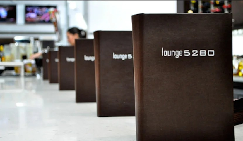 Lounge 5280 at Denver International