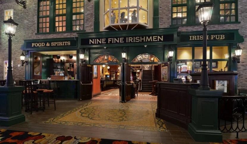 Nine Fine Irish Men