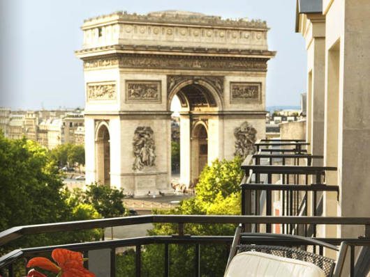The sign-up bonus and Bonus Award Night benefit can get you two free nights at top-tier properties, like the Radisson Blu in Paris, just steps from the Arc de Triomphe.