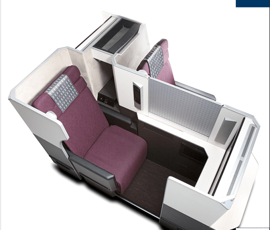 Try JAL's new business SkySuites aboard flights from the US to Japan.