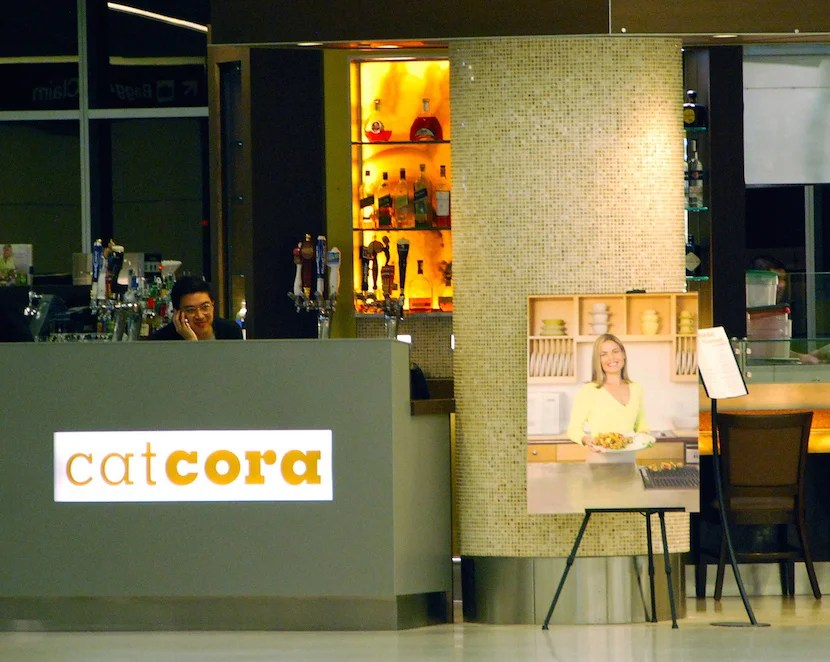 Cat Cora's Kitchen in SFO's Terminal 2. Photo by Adam Fagen on Flickr.