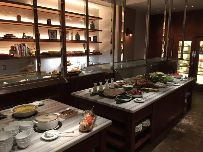 The breakfast buffet at Kanaa Kitchen  cannot be beat.